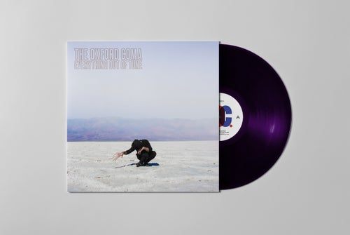 """Image of Everything Out of Tune 12"""" LP Boris Purple"""