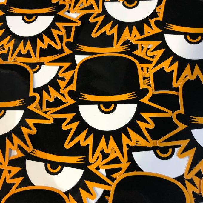 Image of A Clockwork Orange Die Cut Sticker