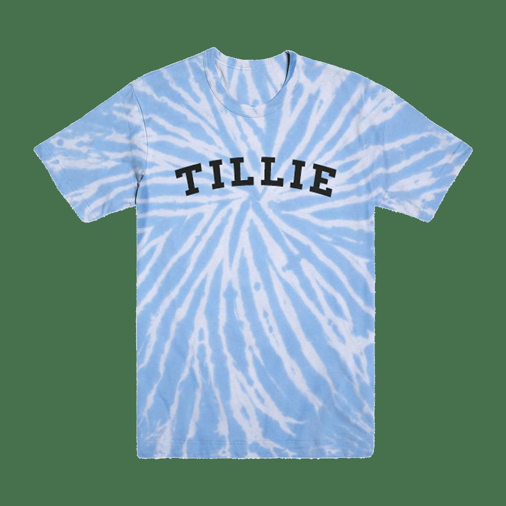 Image of 'tiLLie' tie dye tee