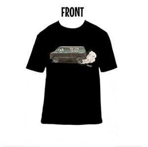 "Image of ""Rolling Heavy Hauler"" Short Sleeve Shirt w/art by Nate Greco"