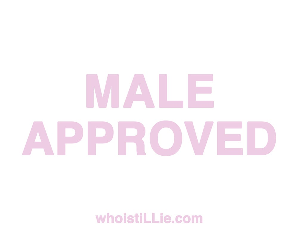 Image of tiLLie/male approved poster