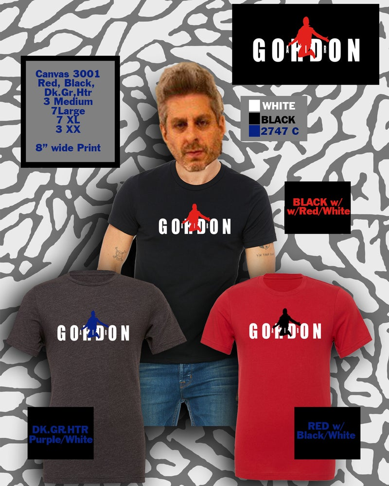 Image of Air Gordon t-shirt