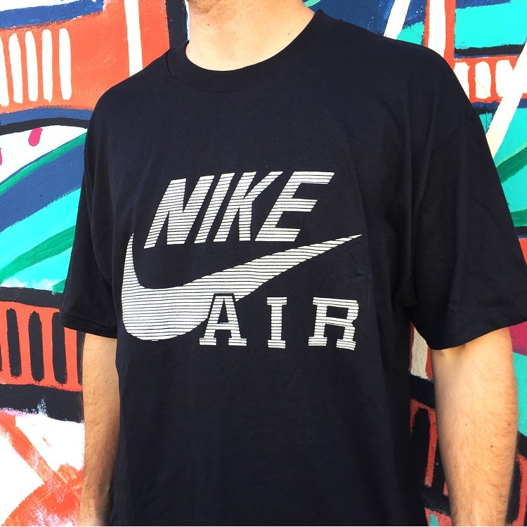Image of Vintage 1990's Nike Air Swoosh Streetstyle T-Shirt Sz.XL