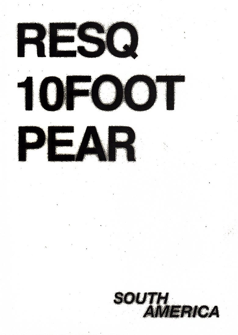 Image of RESQ, 10FOOT, PEAR In South America