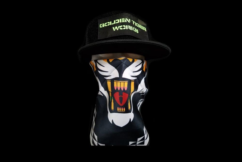 Image of Velcro hat black
