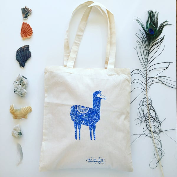 Image of Tote Bag *Lama*