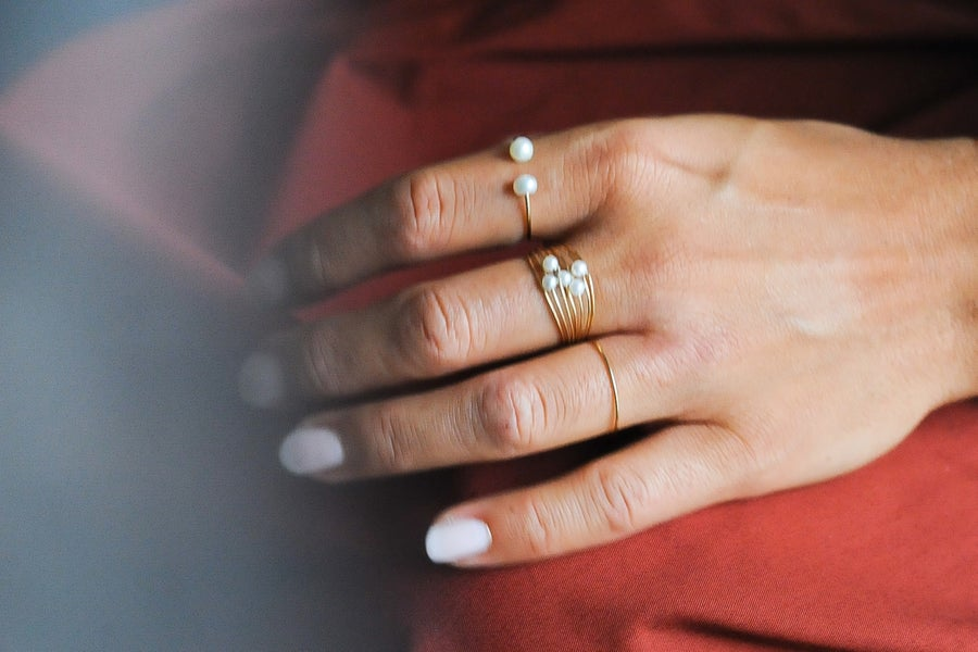Image of Bague Pearl V