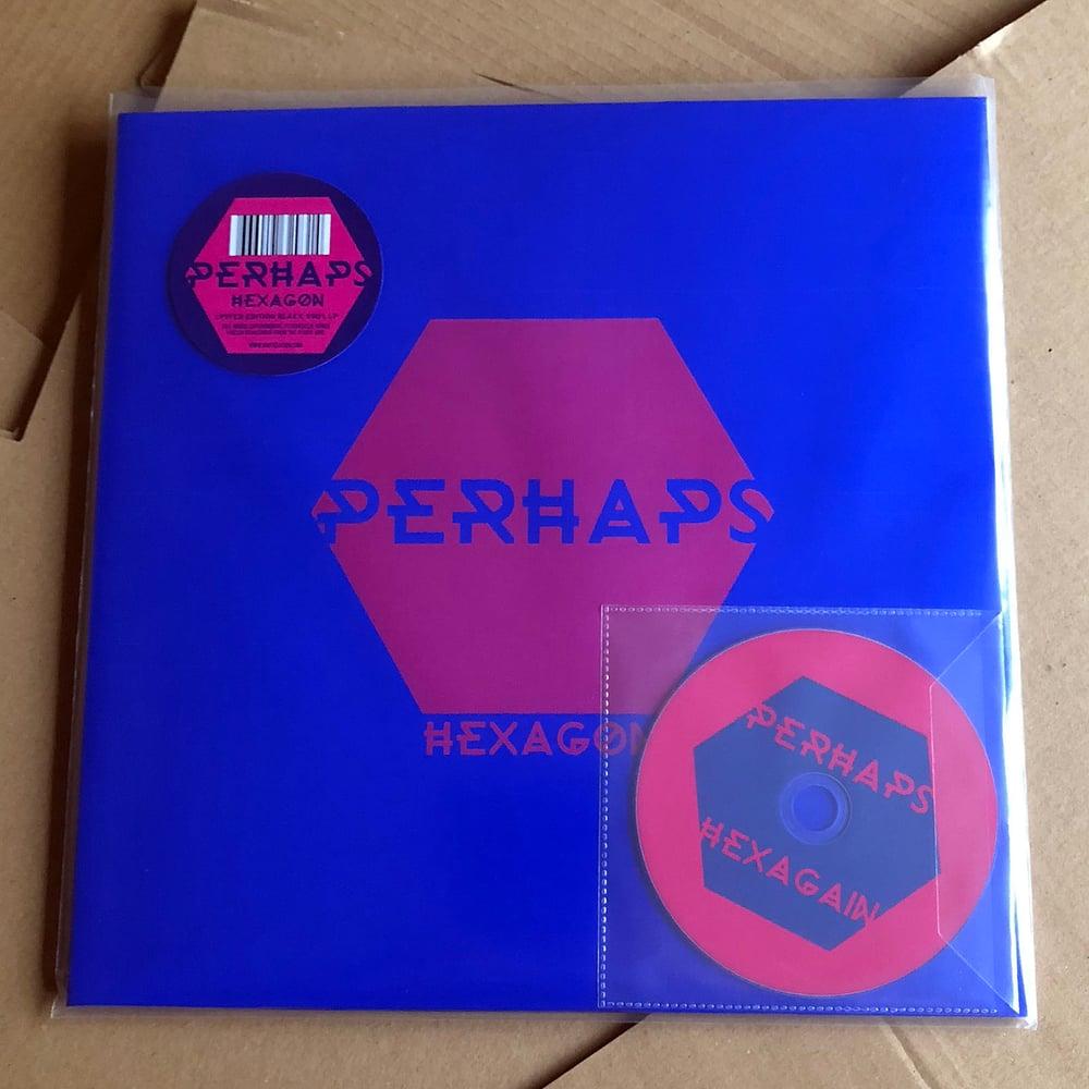 PERHAPS 'Hexagon/Hexagain' LP & CD-R