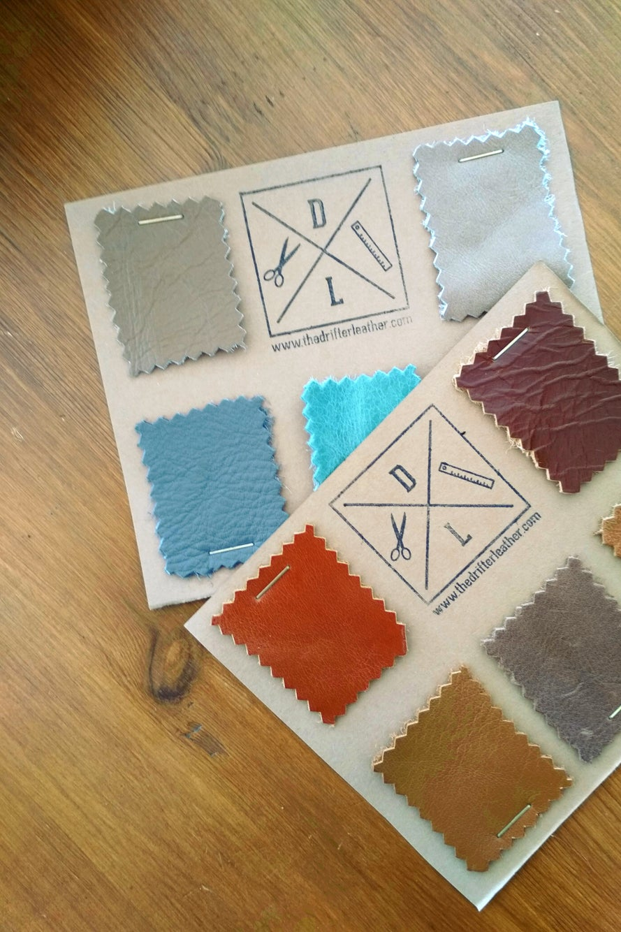 Image of Leather samples