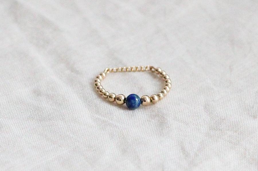 Image of Bague Safia // Lapis Lazuli
