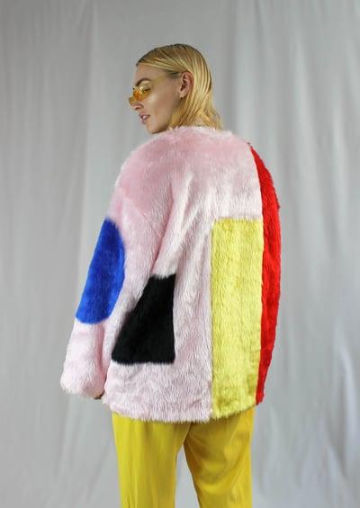 Image of ARTY boxy coat
