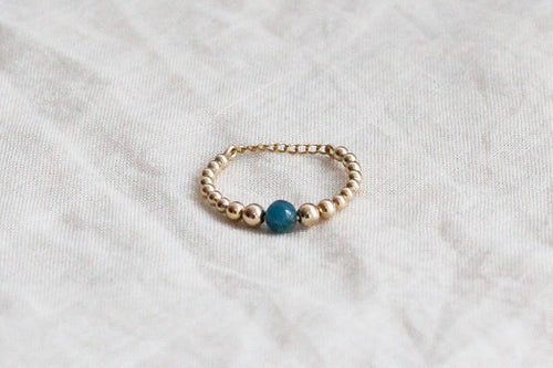 Image of Bague Safia // Blue