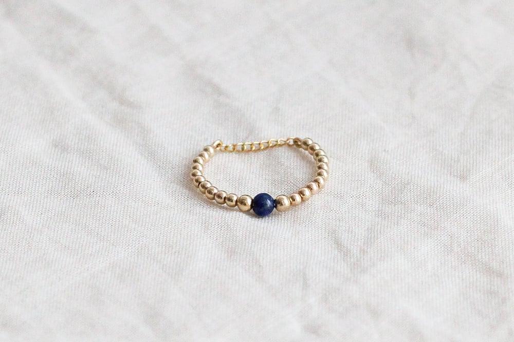 Image of Bague Safia Small // Lapis Lazuli
