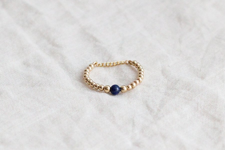 Image of Bague Safia Small // Lapis Lazuli