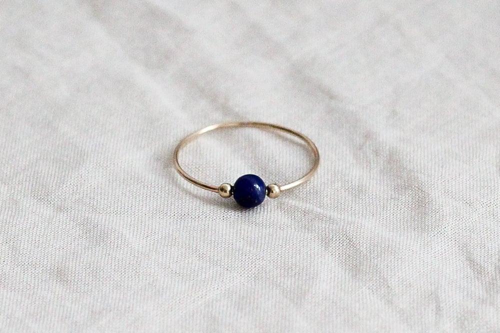 Image of Bague Elisa // Lapis Lazuli