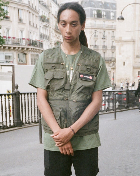 "Image of Gilet ""Tactique Military Green"""