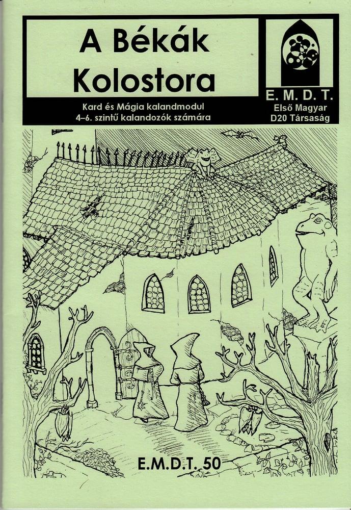 Image of A Békák Kolostora [Hungarian]