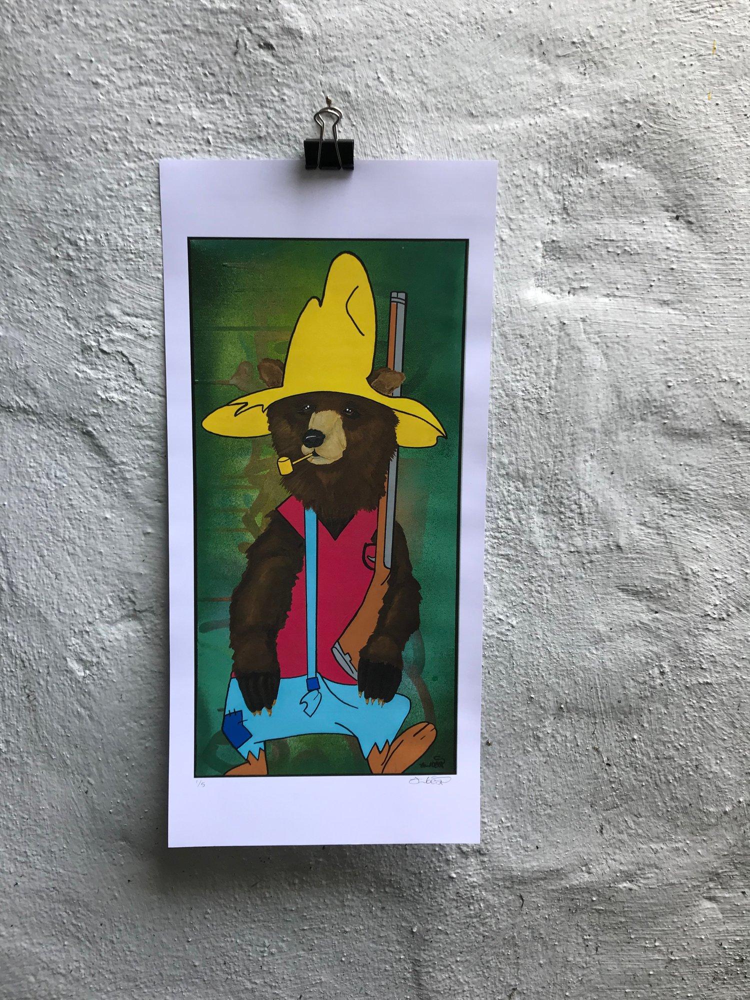 Image of @bear_2.1.5 PAW RUGG print