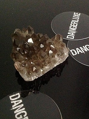 Image of SMOKY QUARTZ CLUSTER - M