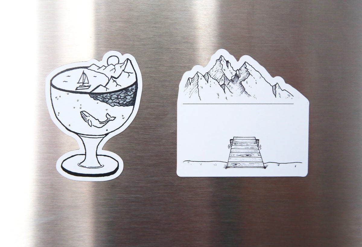Image of Wine World Magnet