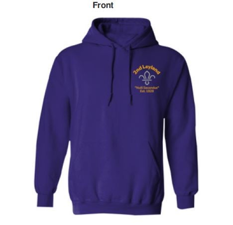 Purple Hoody - new Branding