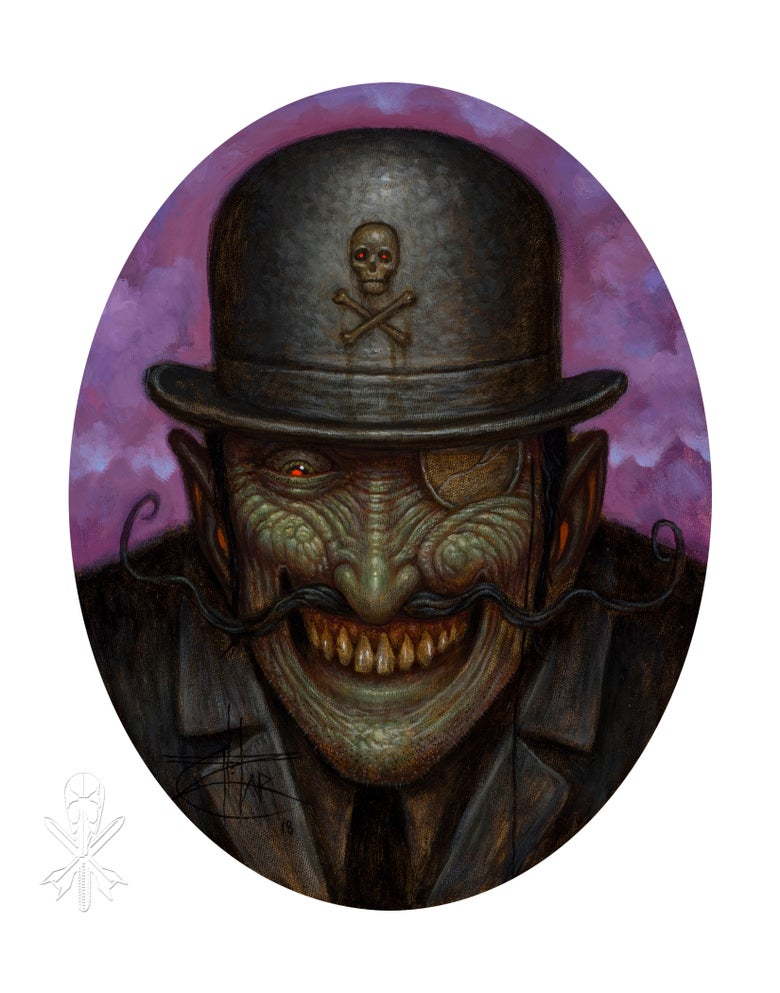 Image of Chet Zar giclée print 'The Villain' signed edition of 10