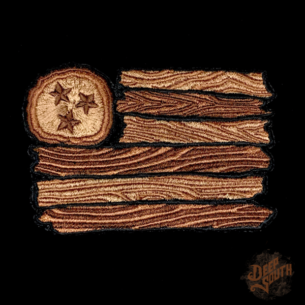 Image of Natural Wood TN Flag