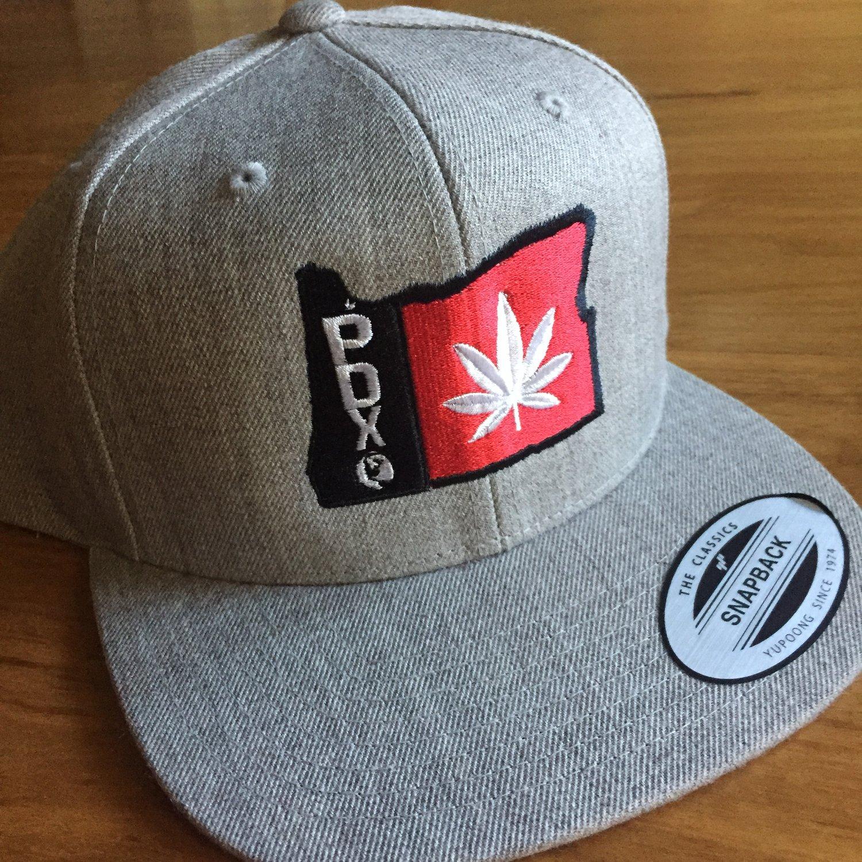 Image of Marijuana Hat Weed Cannabis Snapback Hat