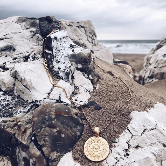 Image of Sun medallion Small