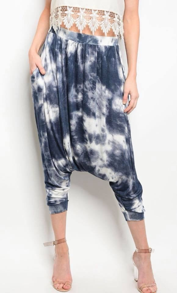 Image of Tie Dye Hammer Pants