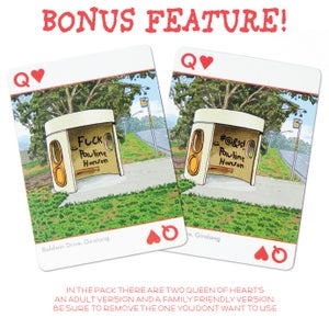 Image of Beautiful Bus Shelter Playing Cards