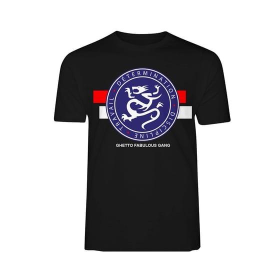 """Image of Tshirt GFG Noir """"Détermination, discipline, travail"""""""