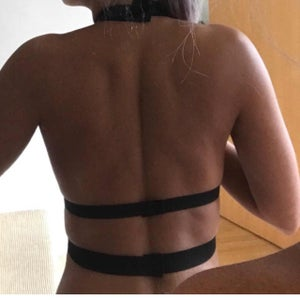 Image of Black Harness Top Only