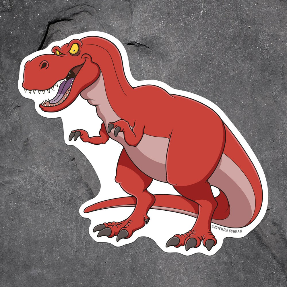 Image of Dinosaur Sticker Pack 1