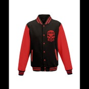 Image of ABK - RED LETTERMAN JACKET