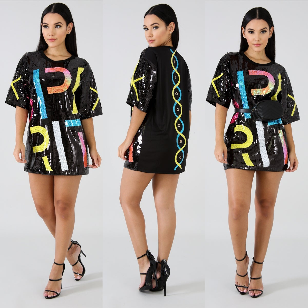 Image of 'Tardy to the Party' Top/Dress