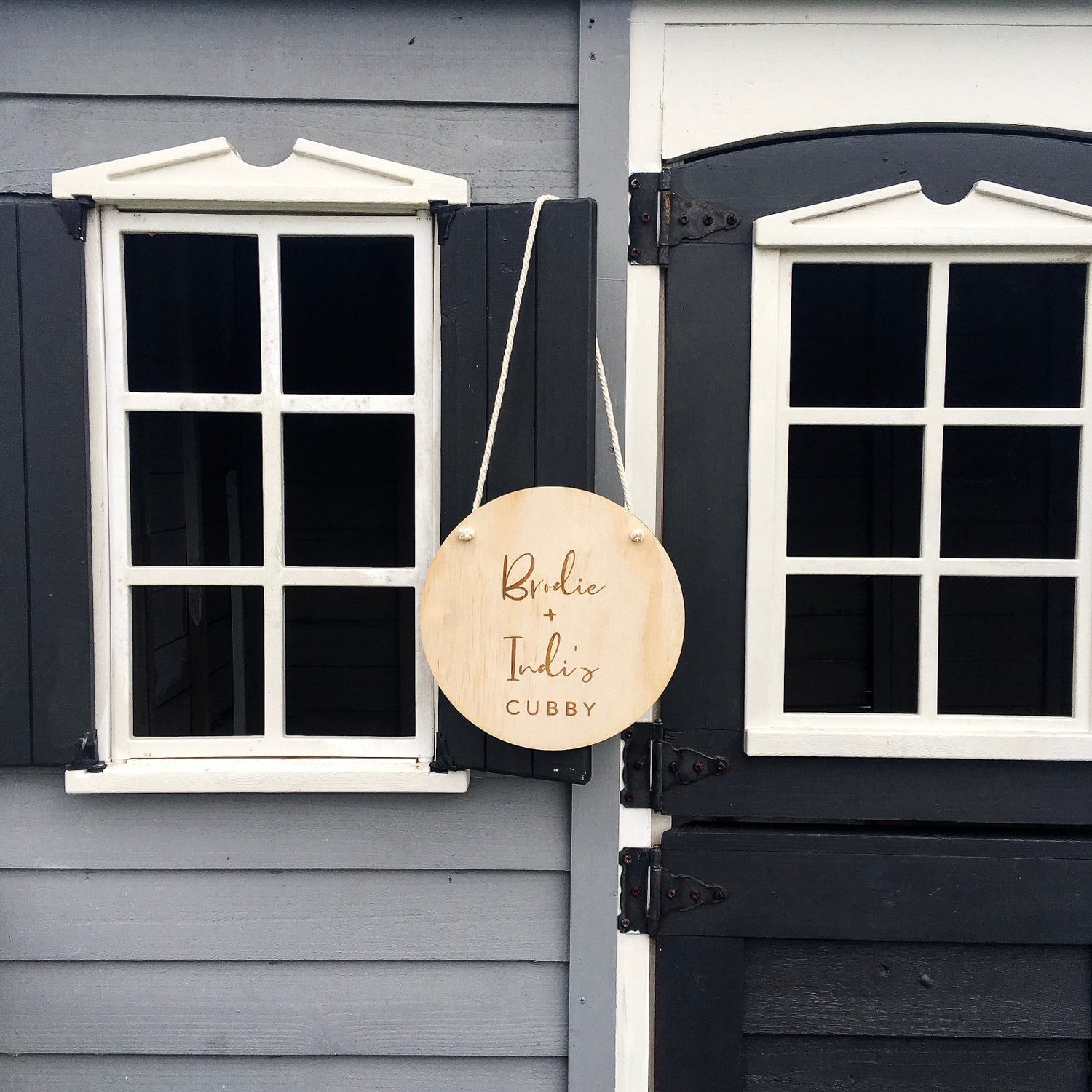 Image of Kid's Space | Timber plaque