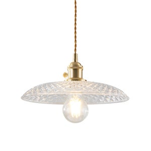 Image of Glass Shade pendant lamp - B