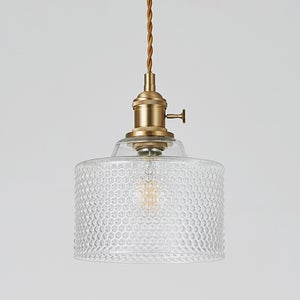 Image of Glass Shade pendant lamp - C