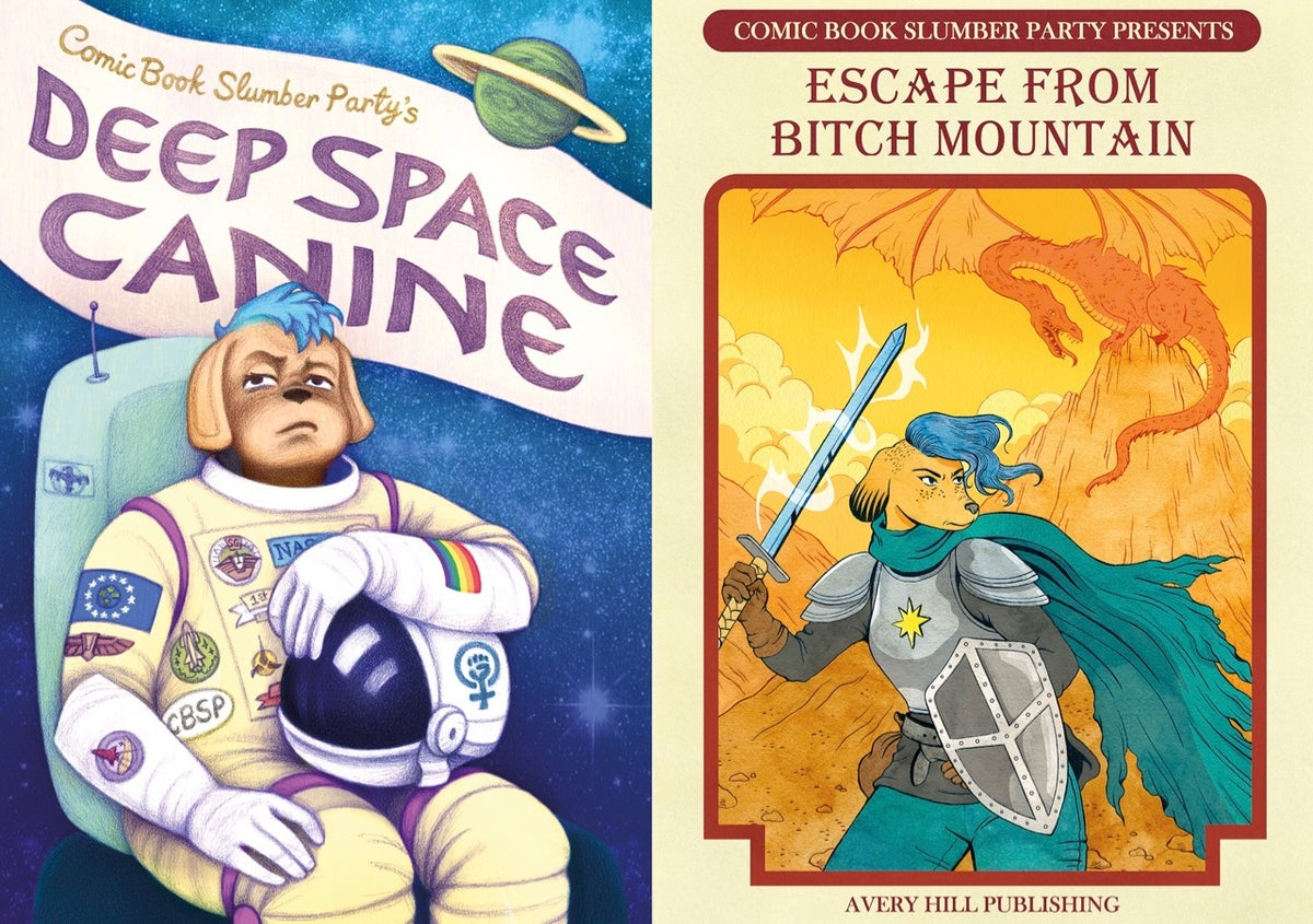 CBSP's Deep Space Canine and Escape From Bitch Mountain Special Offer!