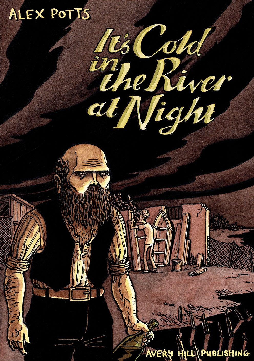 It's Cold in the River at Night by Alex Potts