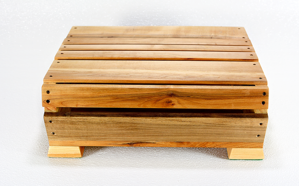 Image of Maple Wood Hinged Box, Desk Storage, Greeting Card Collection, Stationery Organizer, Night Table Box