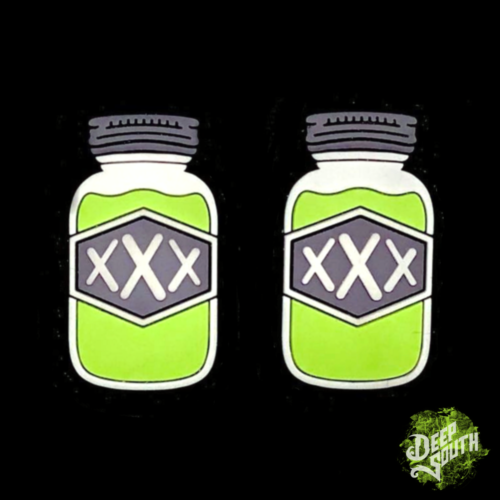 Image of Mini Mason Jars V2 Neon Green