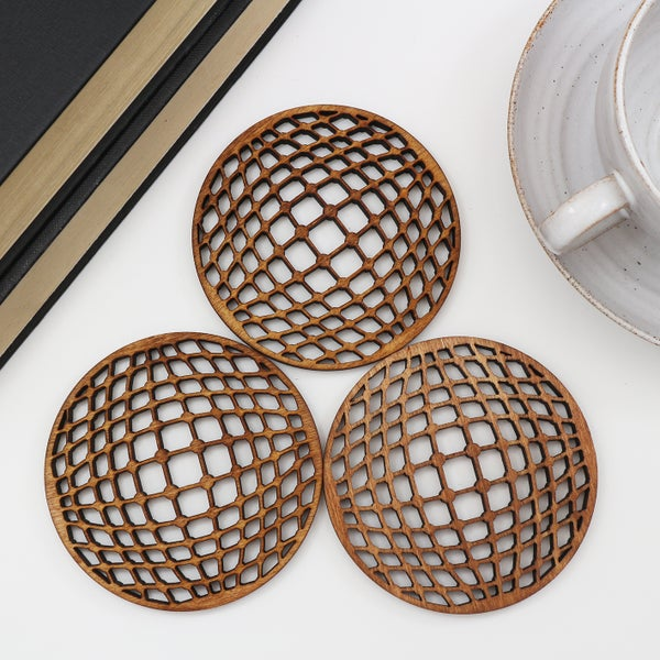 Image of Geometric Coasters