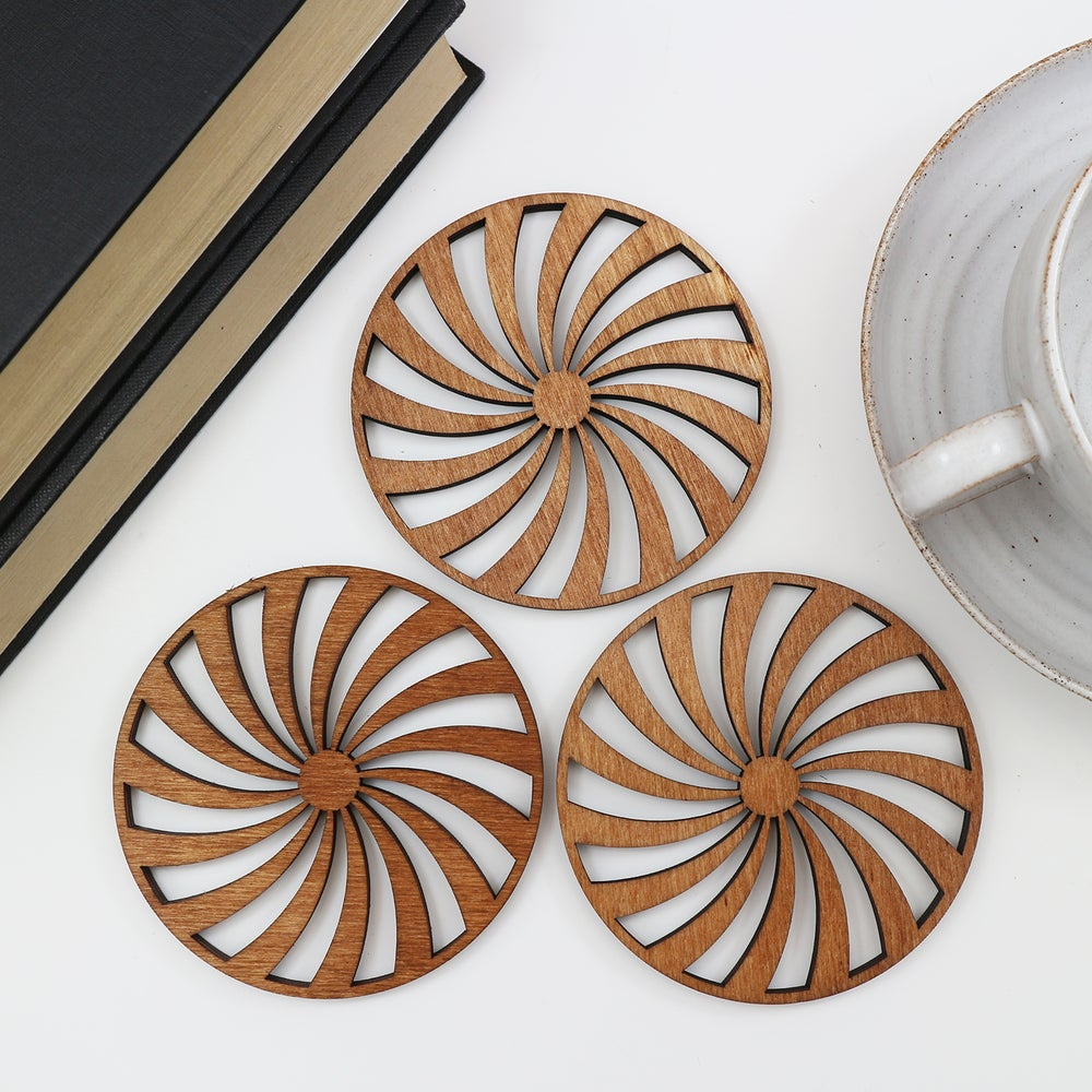 Image of Spiral Coasters