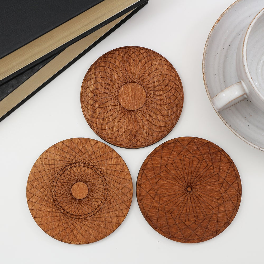 Image of Spirograph Coasters