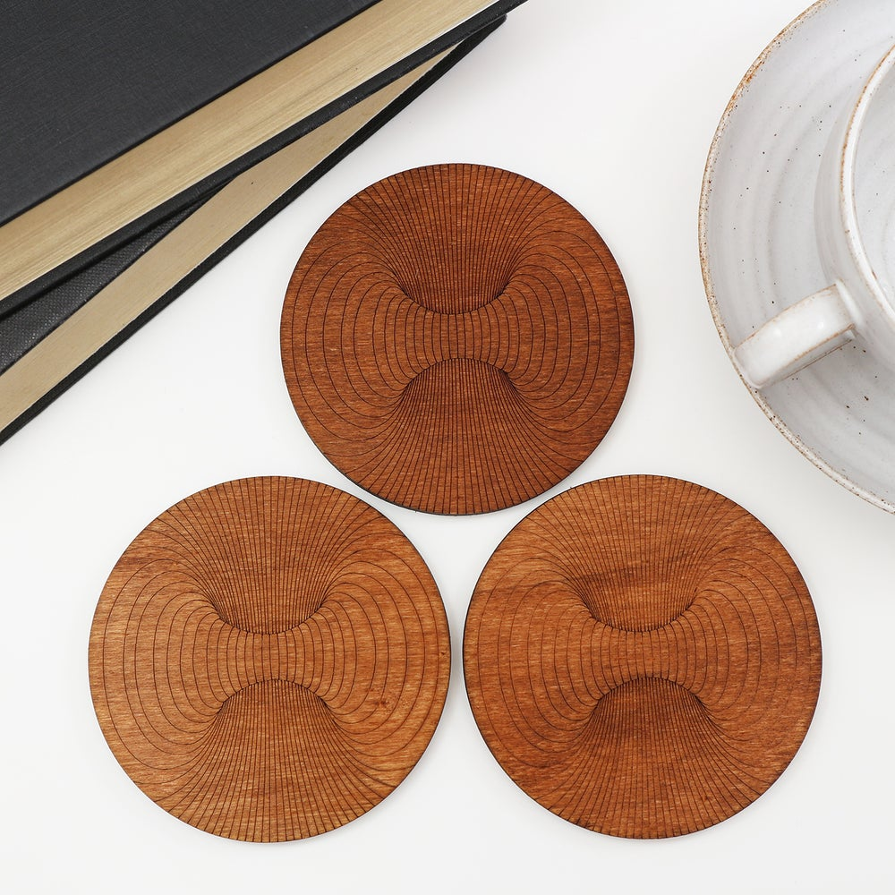 Image of 3D Hole Coasters