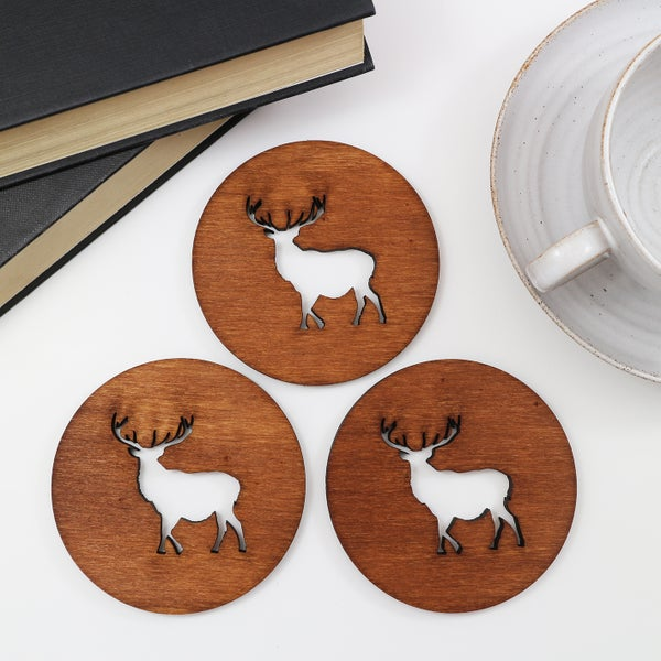Image of Stag Coasters