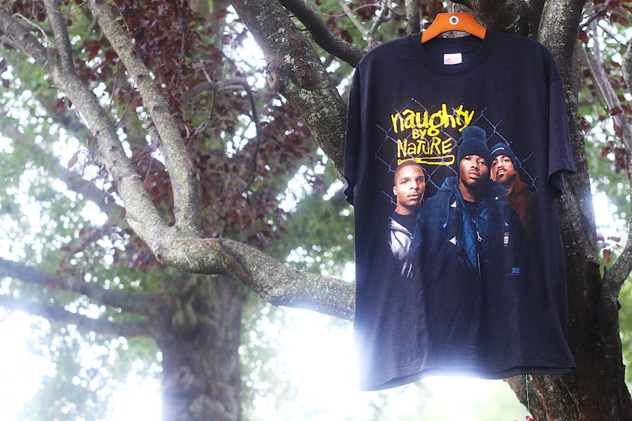 "Image of Rare 1993 Vintage Winterland ""NAUGHTY BY NATURE"" Single-Stitch Rap Tee"