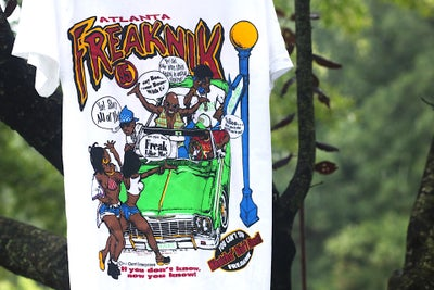 "Image of Rare 1995 Vintage ""ATLANTA FREAKNIK 95"" Single-Stitched Rap Tee"